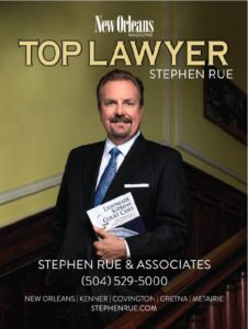 New Orleans Magazine Top Lawyer 2018 - Stephen Rue